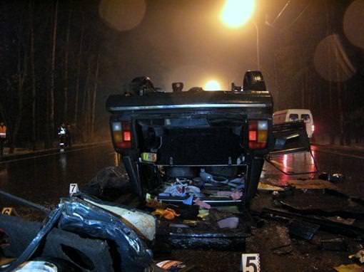Rebrov'un eşi trafik kazası geçirdi