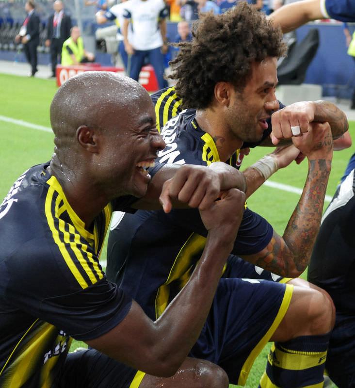 Red Bull Salzburg - Fenerbahçe maçından kareler
