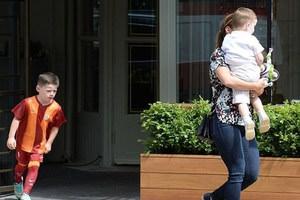 Rooney'in oğlu Galatasaray formasıyla görüntülendi