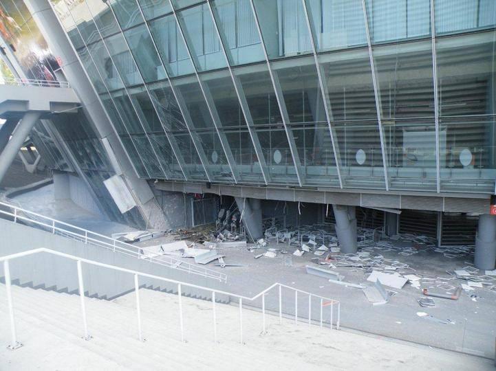 Shakhtar Donetsk'in stad�na bombal� sald�r�