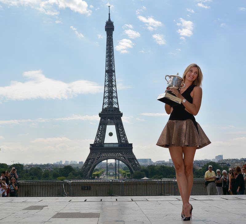 Sharapova büyüledi!