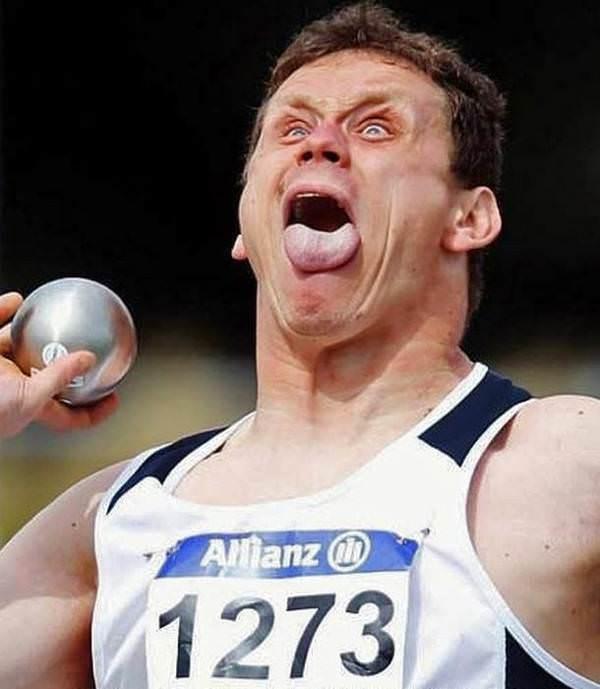 Sporun komik yüzleri