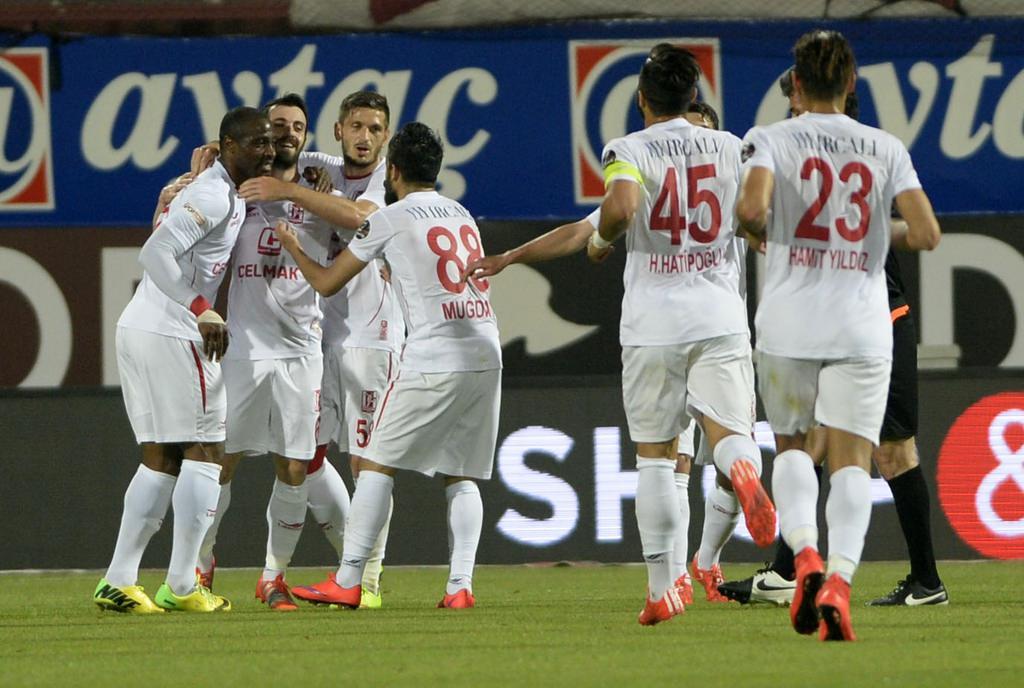 Trabzonspor-Balıkesirspor maçından kareler