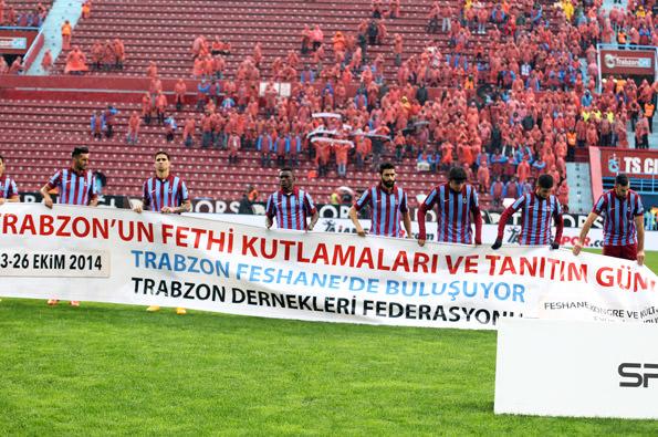Trabzonspor - Mersin İdmanyurdu maçından kareler