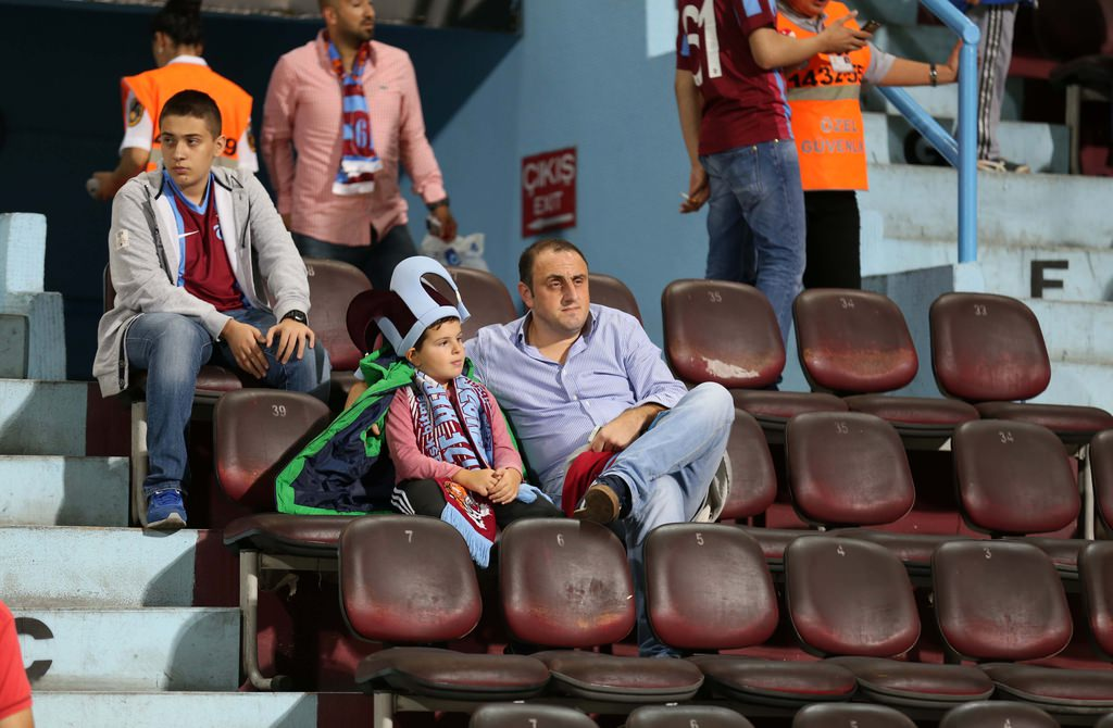 Trabzonspor-Torku Konyaspor maçından kareler