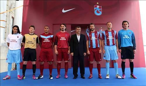 Trabzonspor'un Yeni Sezon Formalar�