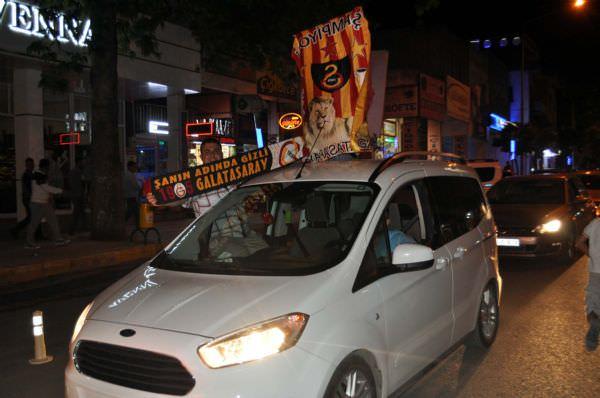 Tüm yurtta Galatasaray coşkusu