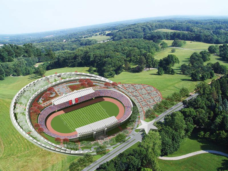 Türkiye'nin ilk ay yıldızlı stadyumu