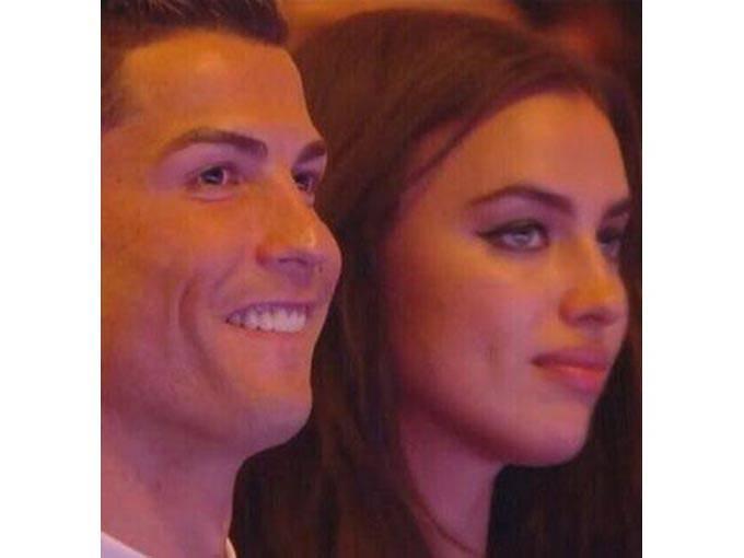 Irina Shayk, Ronaldo'nun gözyaşlarına dayanamadı