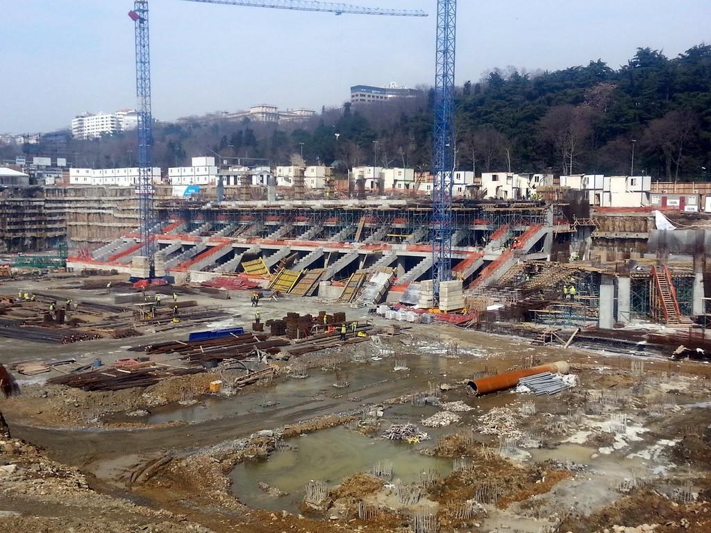 Vodafone Arena'dan son kareler (12 Mart 2014)