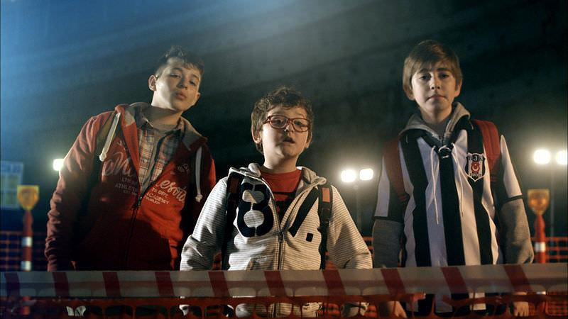 Vodafone Arena'nın ilk reklam filmi çekildi