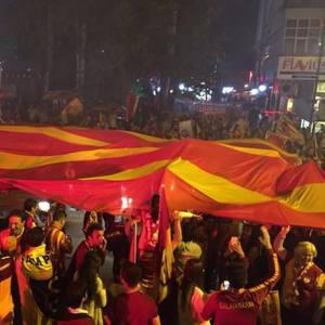 Yurtta Şampiyon Galatasaray coşkusu