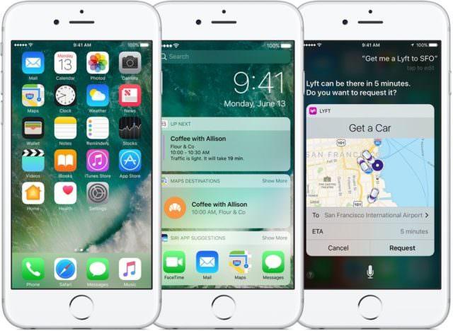 Apple'dan Yeni Güncellemeler iOS 10.3