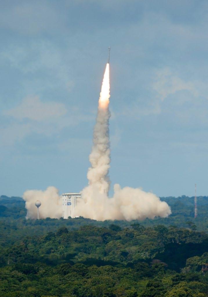 Göktürk-1 böyle fırlatıldı