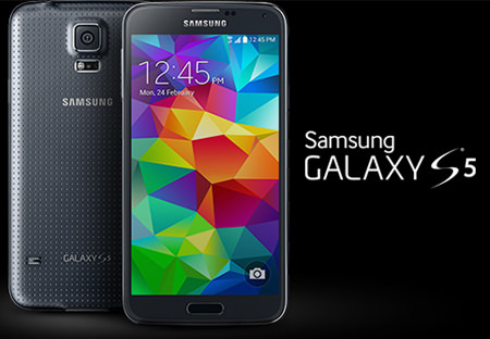 Samsung amiral gemisi Galax S5'i tanıttı
