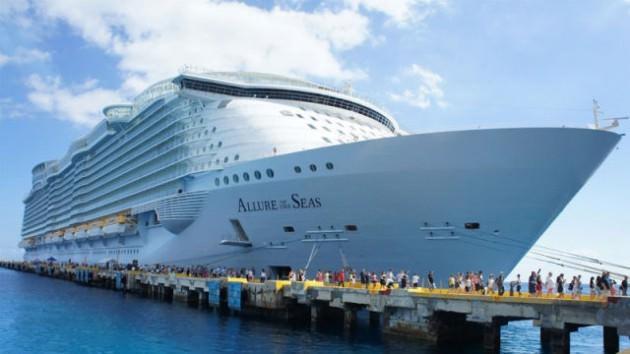 Dünyanın en büyük gemisinde çalışmak