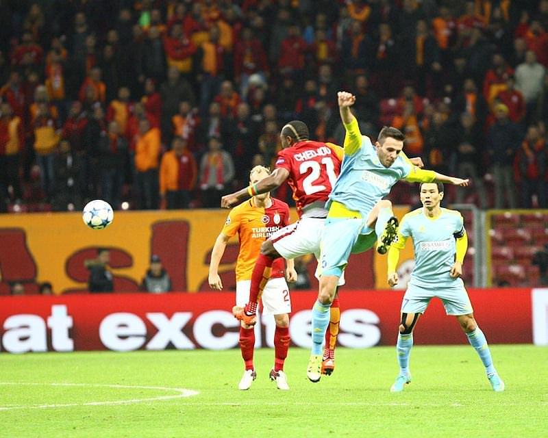 Galatasaray - Astana maçı Twitter'ı salladı