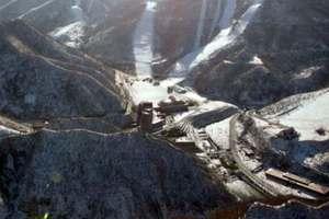 Kuzey Kore'nin lüks kayak merkezi