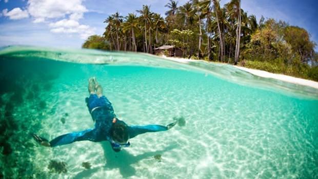 Ölmeden önce yüzmeniz gereken sular