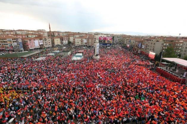 """15 Haziran """"Milli İradeye Saygı"""" mitingi"""