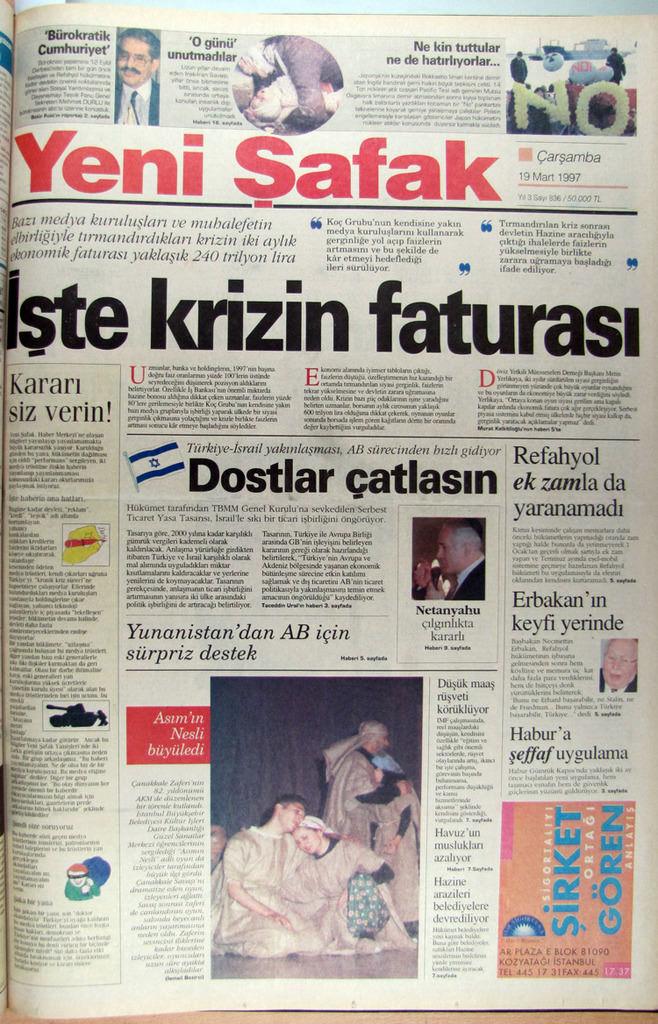 28 Şubat'ın gazete manşetleri