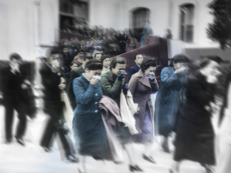 Atatürk'ün cenazesinden görülmemiş fotoğraflar