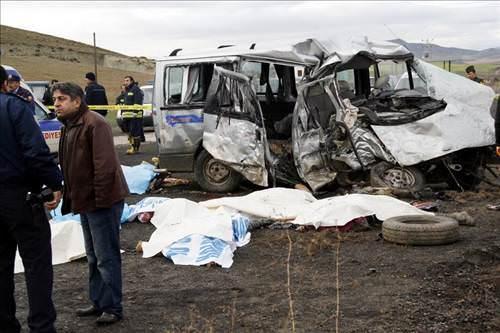 Beypazarı'nda trafik kazası