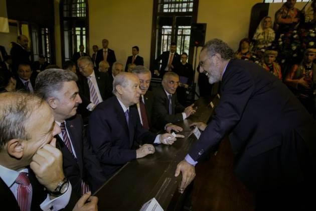 Birinci Meclis'te ilklerin töreni