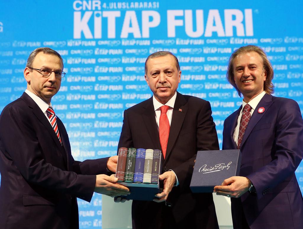 Cumhurbaşkanı Erdoğan 4. CNR İstanbul Uluslararası Kitap Fuarı'na katıldı