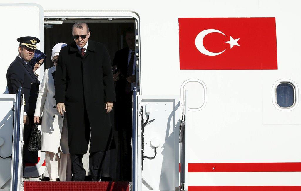 Cumhurbaşkanı Erdoğan Amerika'da