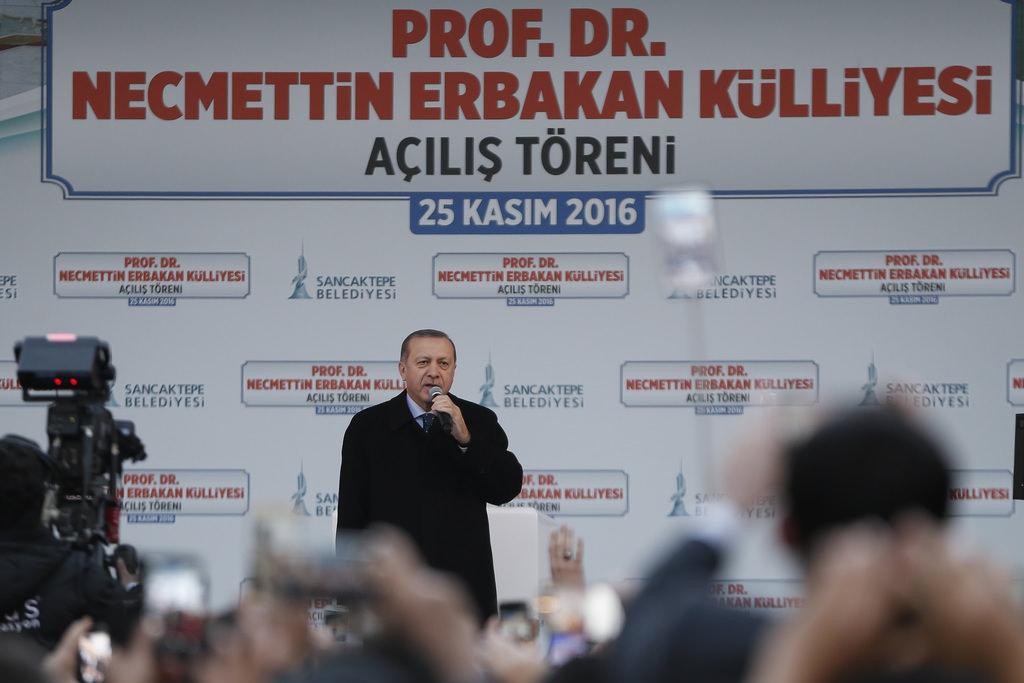 Cumhurbaşkanı Erdoğan, Prof. Dr. Necmettin Erbakan Külliyesi'nin açılışını yaptı