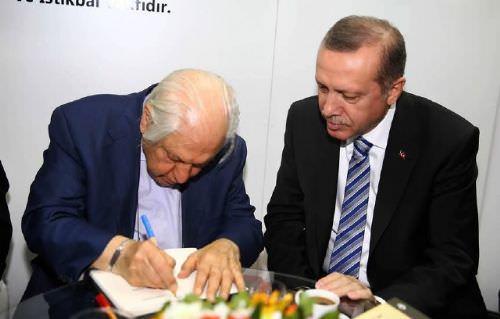 Cumhurbaşkanı Erdoğan TÜRGEV'i ziyaret etti