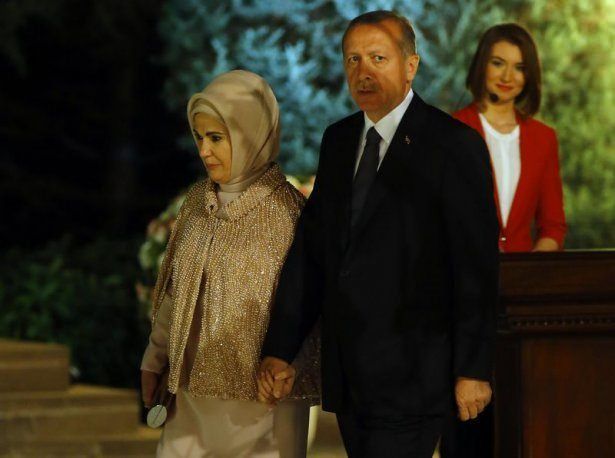 Cumhurbaşkanı Erdoğan'ın ilk resepsiyonu
