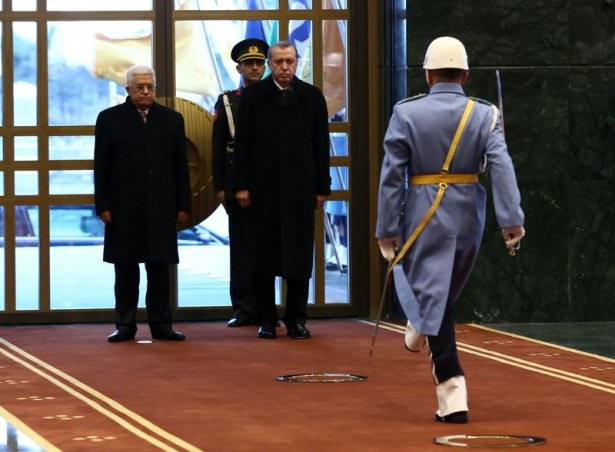 Cumhurbaşkanlığı Saray'ında görkemli karşılama