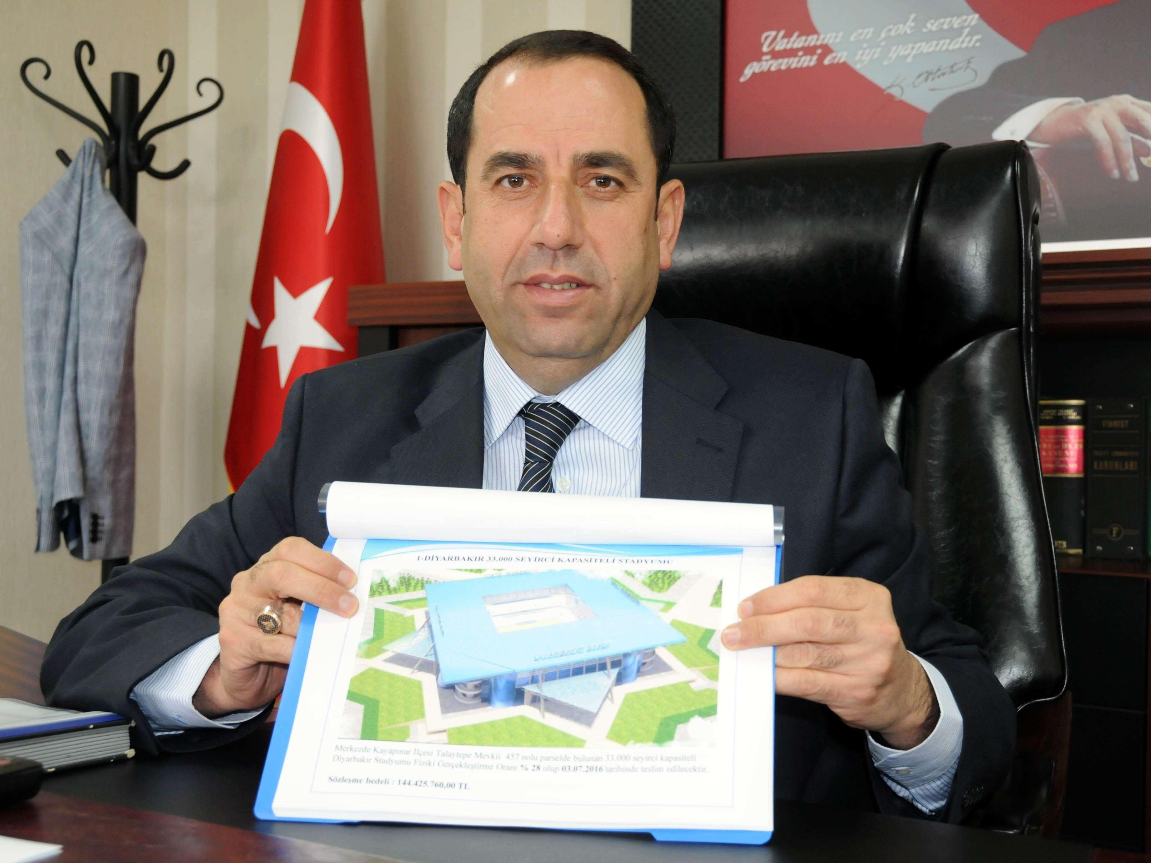 Diyarbakır, modern stadyuma kavuşuyor