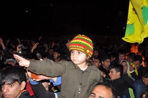 Diyarbakır sokaklarında Nevruz coşkusu