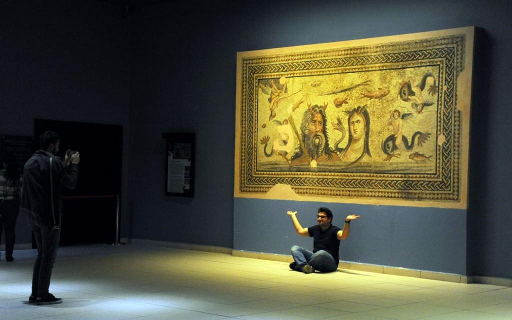 Dünyanın en büyük mozaik müzesi ziyaretçilerini bekliyor  .