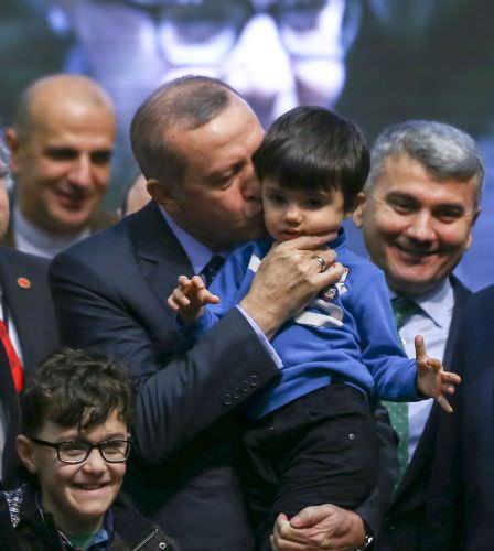 """Cumhurbaşkanı Erdoğan, """"Yeni anayasa için hep birlikte"""" programında"""