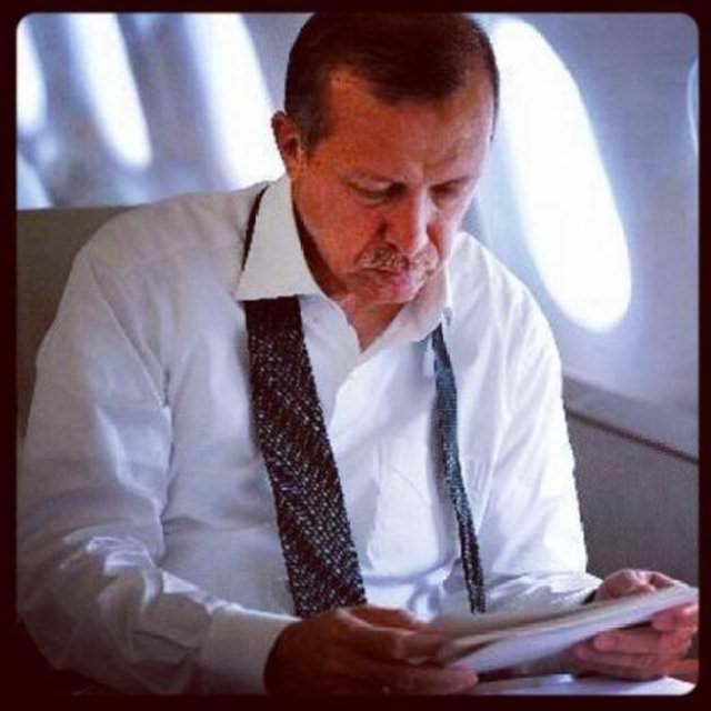 Erdoğan'ın fotoğrafları ilgi görüyor