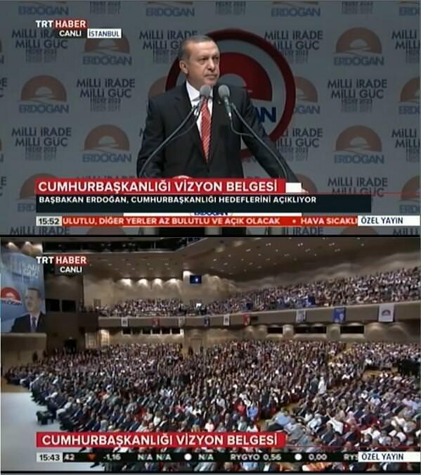 Erdoğan'ın vizyon toplantısına sanatçı akını
