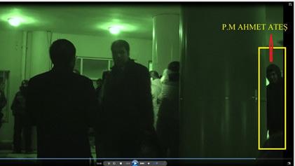 Eylemci polisler böyle görüntülendi