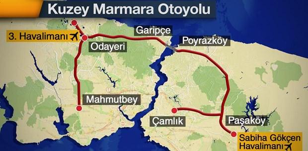 Hafta sonu Yavuz Sultan Selim Köprüsü'nden geçeceklere öneriler