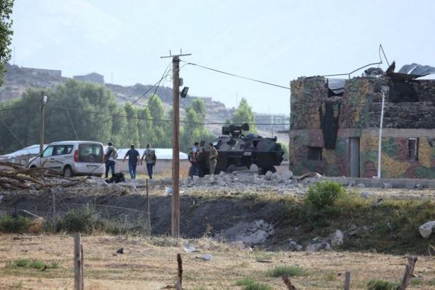 İntihar saldırısı sonrası olay yerinden ilk görüntü