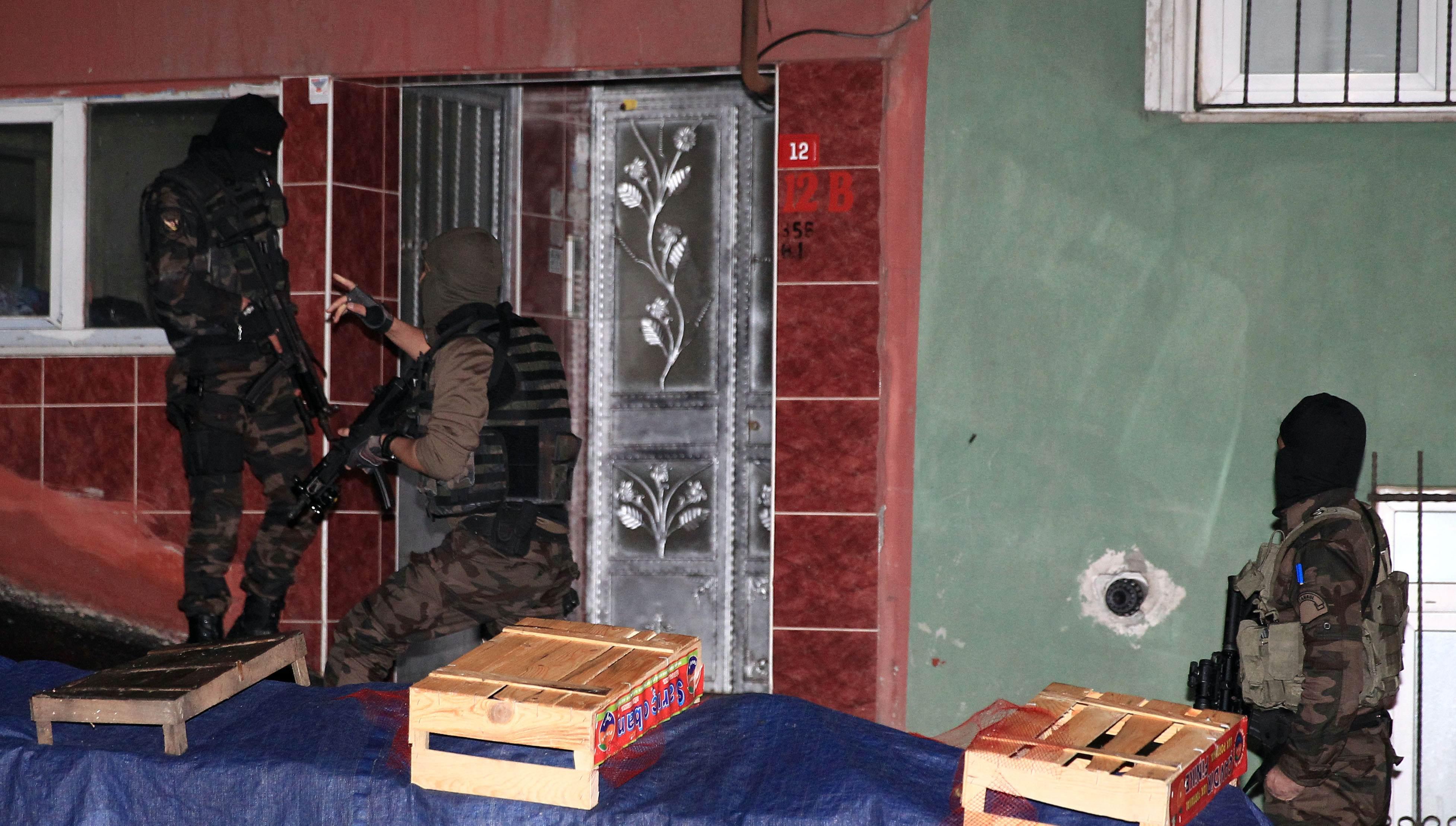 İstanbul'da şafak operasyon