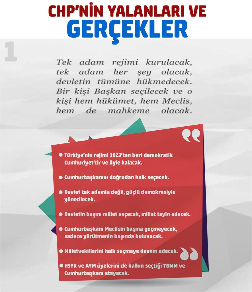 İşte CHP'nin referandum yalanları ve gerçekler