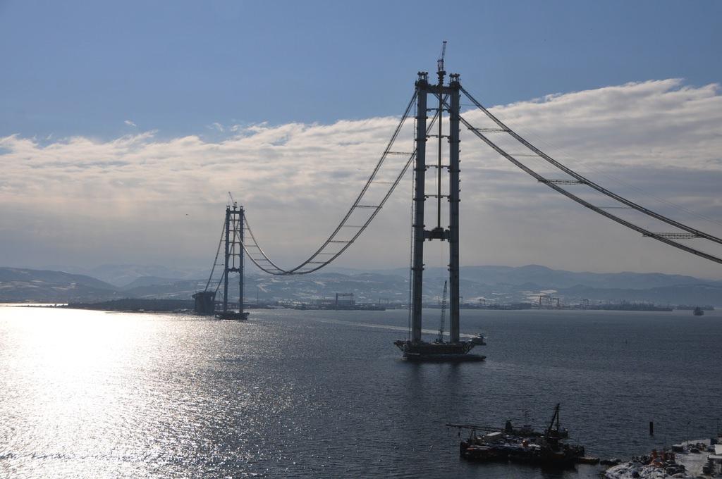 İzmit Köprüsü, Boğaz Köprüsü'nü aratmıyor!