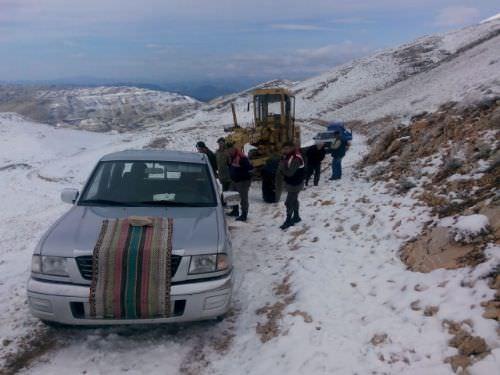 Kar yağışı Balkanlar'dan geldi