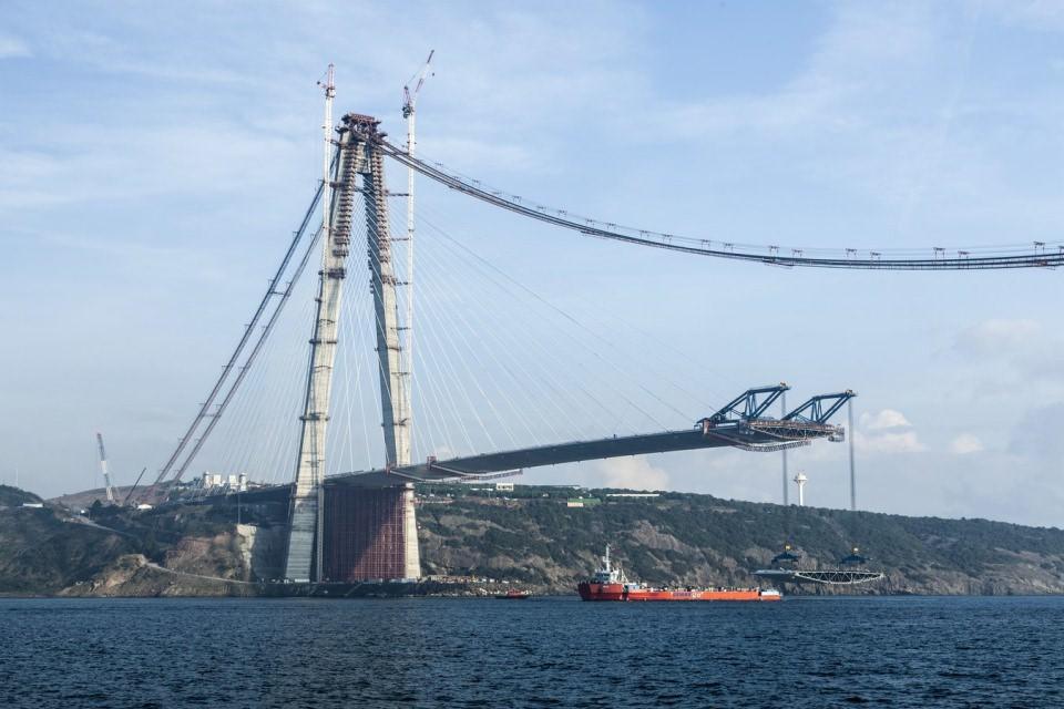 Kıtaların birleşmesine 391 metre kaldı