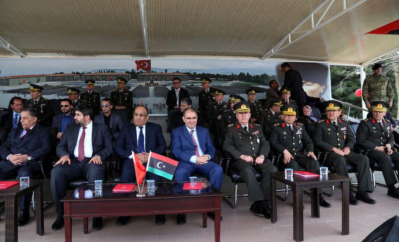 Libya askerleri, Türkiye'deki eğitimlerini tamamladı