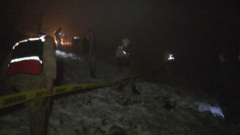 Malatya'daki uçak kazasından ilk görüntüler